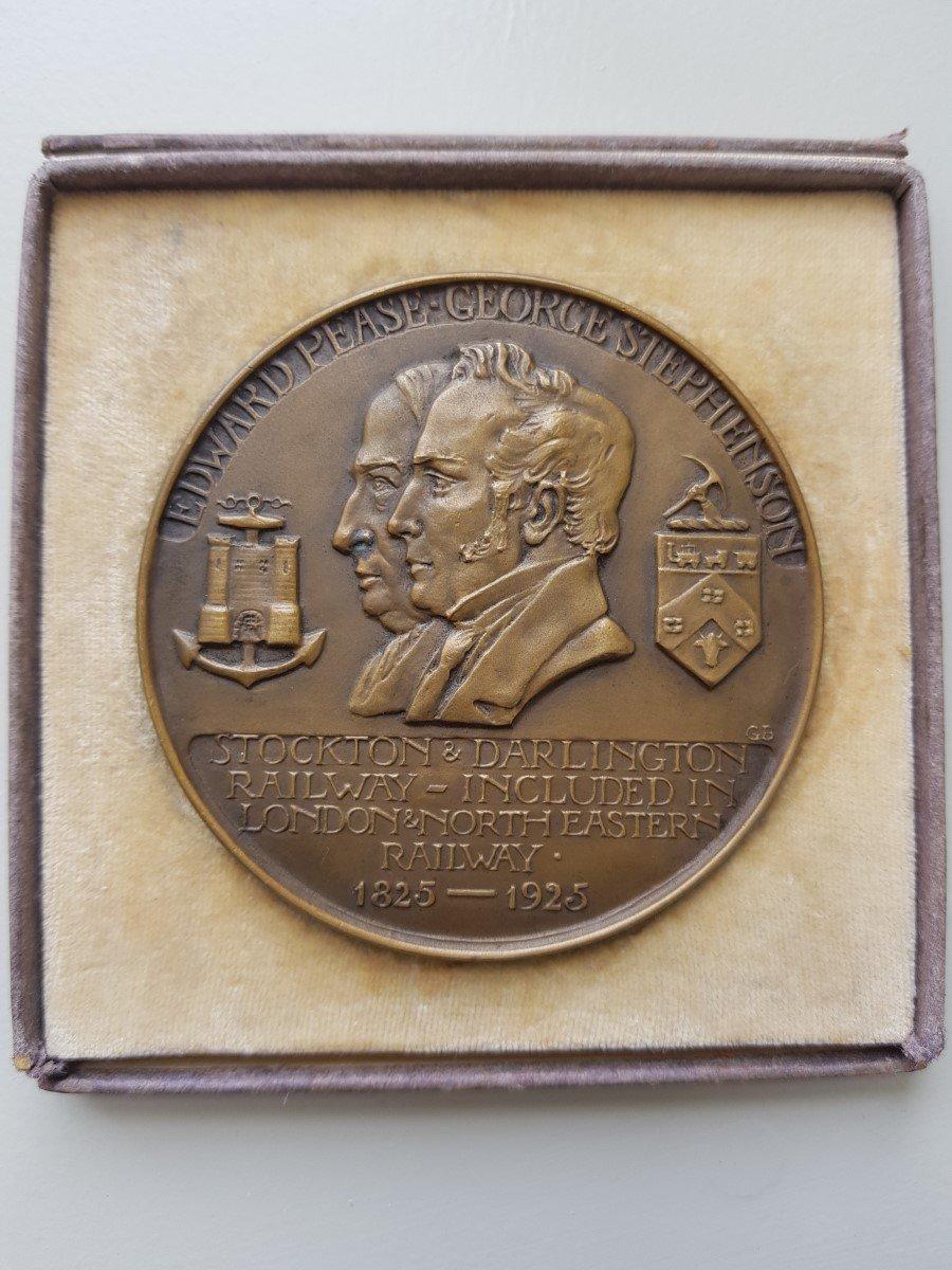 1925 Centenary Medal Head