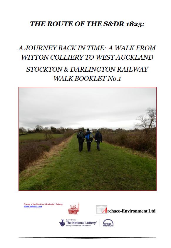 Leaflet Walk 1 SDR 1825